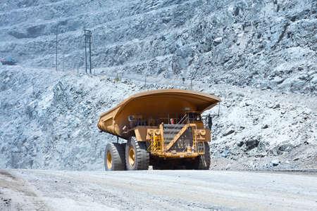 Dump Truck at Copper Mine in Chile