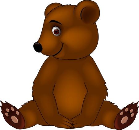 Baby bear Stock Vector - 15379412