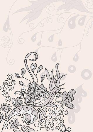 historical romance: Floral pattern