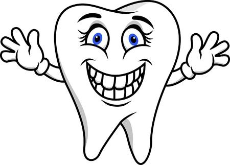 oral health: Happy tooth