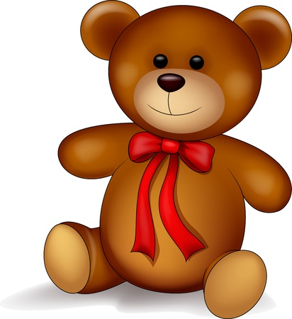 cartoon bear: Teddy bear cartoon