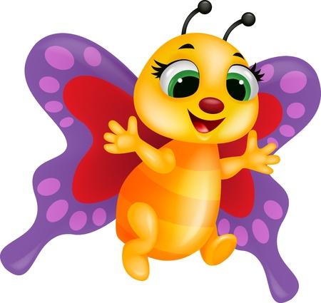 escarabajo: Mariposa de la historieta