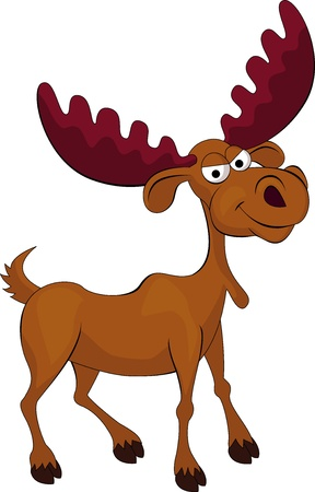amuse: Moose cartoon
