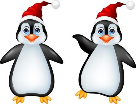 Funny penguin cartoon Stock Vector - 16708271