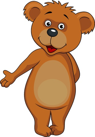 Bear cartoon Stock Vector - 17178540