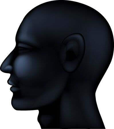insulate: Human head silhouette
