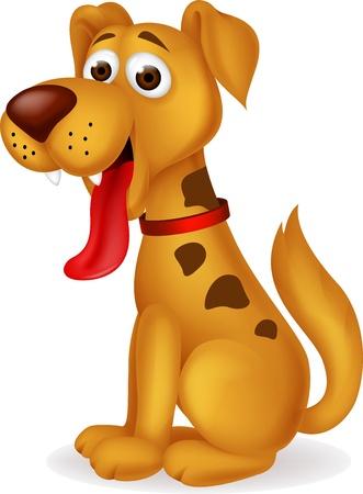 Funny dog cartoon Stock Vector - 17380871