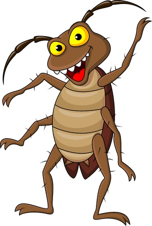 Cockroach cartoon Stock Vector - 17473756