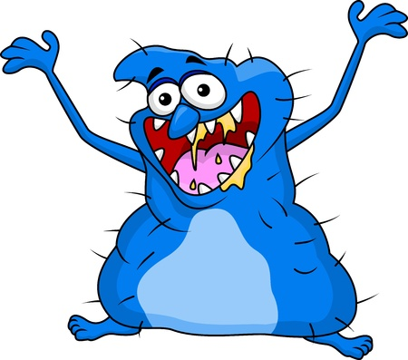 Ugly monster cartoon Stock Vector - 18047045