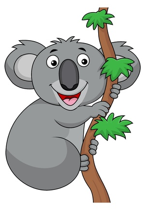 Koala cartoon  Stock Vector - 18047051