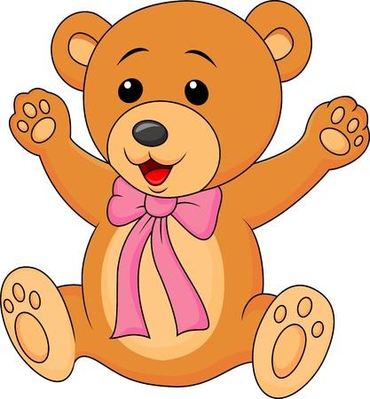 stuffs: Cute baby bear cartoon