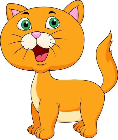pussycat: Cute cat cartoon