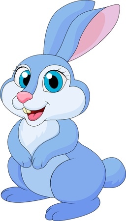cartoon rabbit: Cute rabit cartoon Illustration
