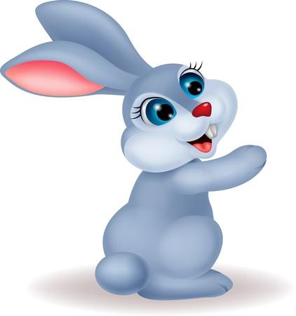 buny: Cute rabbit cartoon