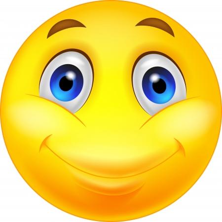 cara sonriente: Feliz de la historieta smiley Vectores