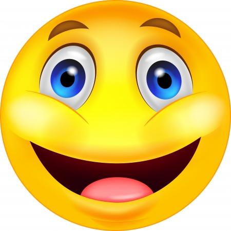 smiley content: Smiley heureux dessin anim�