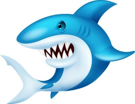 Shark cartoon Stock Vector - 19864872