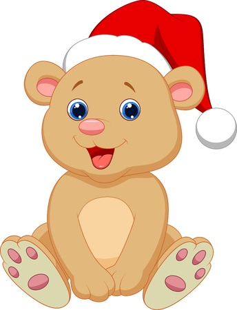 Cute baby bear cartoon sitting Stock Vector - 20219469