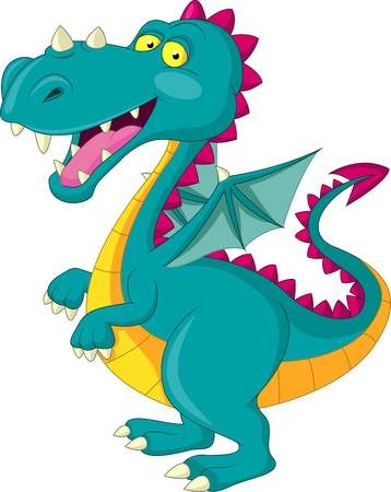 Dragon cartoon Stock Vector - 20754286