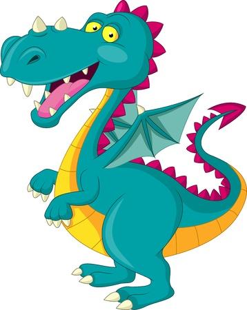 huge: Dragon cartoon