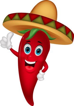 sombrero de charro: Historieta Chili con sombrero sombrero