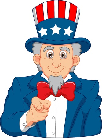 army background: Uncle Sam cartoon wants you