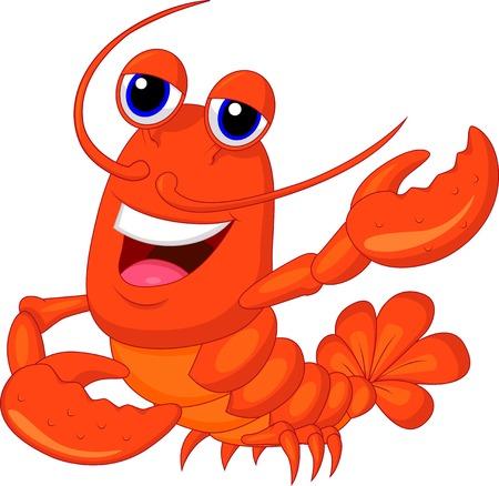 Cute cartoon homara prezentacji