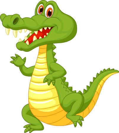 croc: Cute crocodile cartoon
