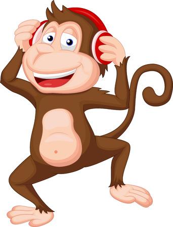 escucha activa: Baile lindo de la historieta del mono
