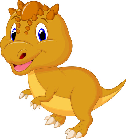 terrific: Cute dinosaur cartoon