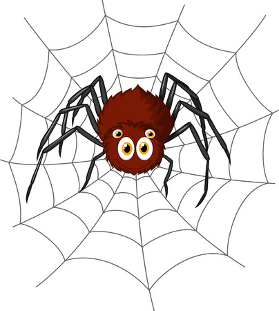 spiders: Cute spider cartoon