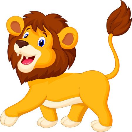 chita: A pie de dibujos animados León
