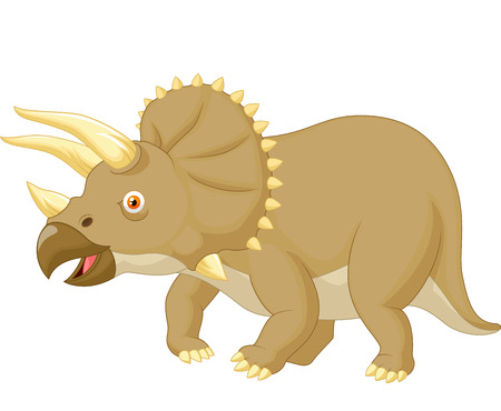 triceratops: Triceratops cartoon