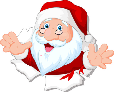 santa clause: Santa Clause cartoon