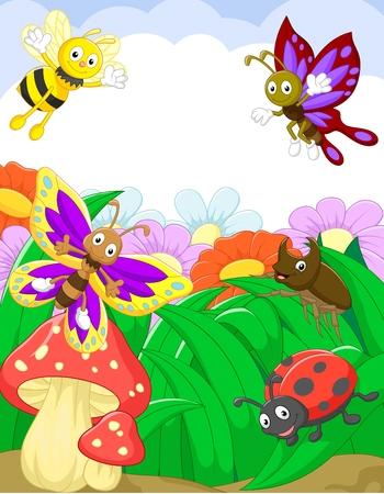 小さな動物漫画