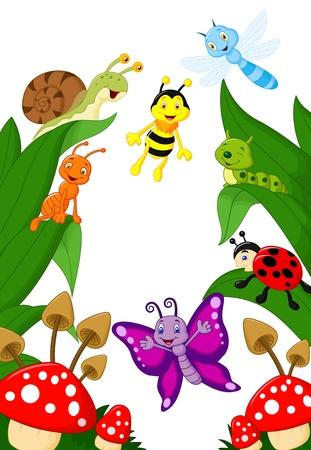 Small animals cartoon  Vector