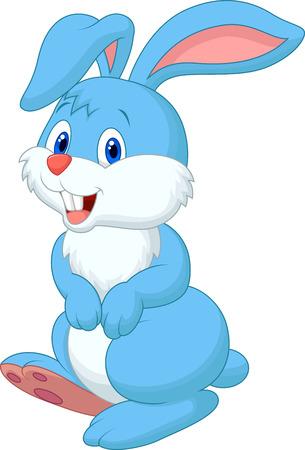 Dibujos animados lindo conejo Foto de archivo - 27656975