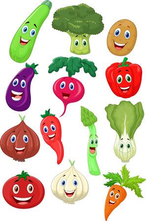 alface: Bonito vegetal personagem de desenho animado