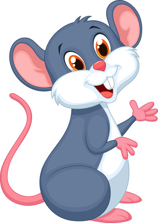 mouse: Happy mouse cartoon