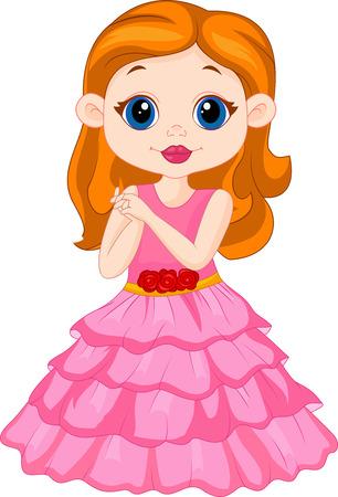 Mooi meisje cartoon