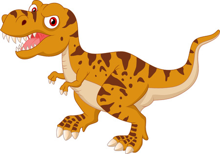 Tyrannosaurus cartoon Vector