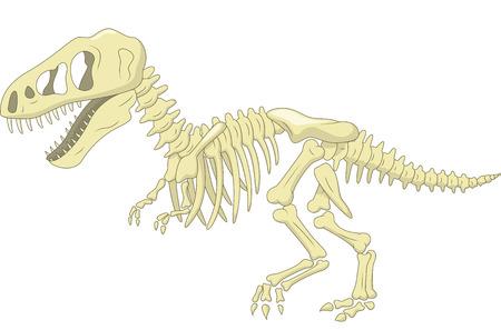 Squelette de dinosaure Banque d'images - 30328992