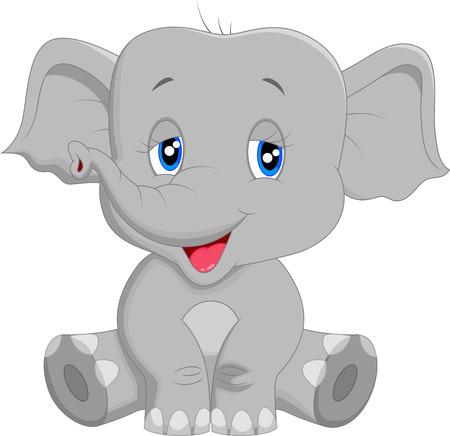 bebes lindos: Cute dibujos animados beb� elefante