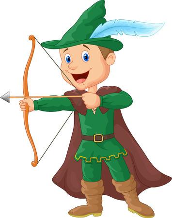 archer cartoon Vector