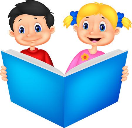 本を読む子どもたち