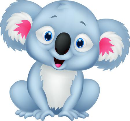 koala bear: Cute koala cartoon