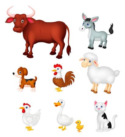 barnyard: Farm animal collection set