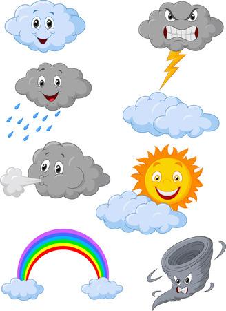 Símbolo del tiempo de dibujos animados Foto de archivo - 30329421