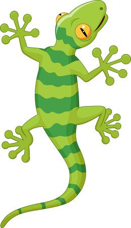 Gecko Cartoon Banque d'images - 33367718