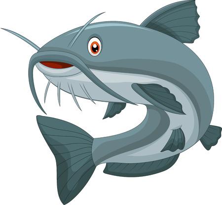 catfish: Cartoon catfish